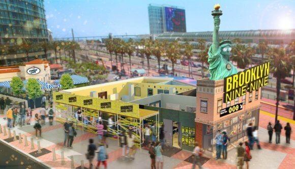 NBC Brooklyn Nine-Nine Comic Con Interactive Experience