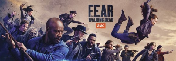 Fear the Walking Dead Comic Con Poster