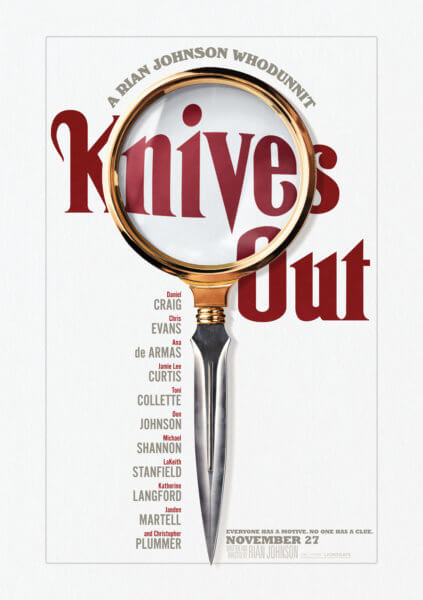 Knives Out Teaser Poster