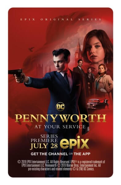 Pennyworth Comic Con Key Card