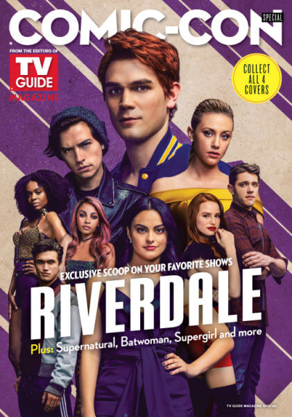 Riverdale' TV Guide Cover