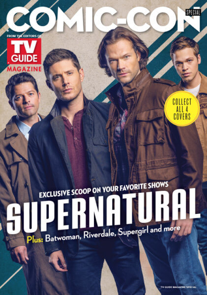 'Supernatural' TV Guide Cover