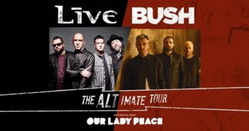 Bush and Live Tour Dates