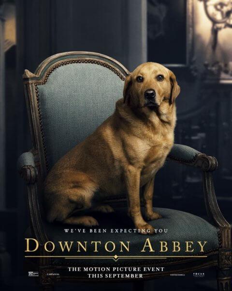 Downton Abbey Dog Poster