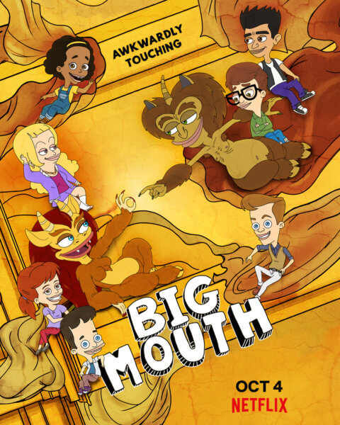 Big Mouth Season 3 Poster