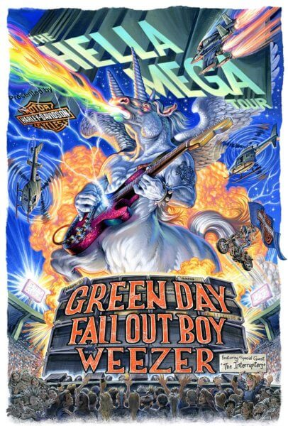 Green Day, Weezer and Fall Out Boy Tour