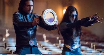 Supergirl Season 5 Jesse Rath and Nicole Maines