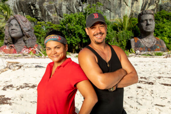 Survivor Season 39 Sandra and Boston Rob