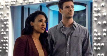The Flash Season 6 Candice Patton and Grant Gustin