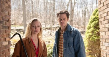 Villains Bill Skarsgard and Maika Monroe