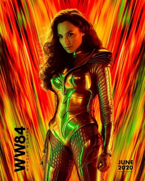 Wonder Woman 1984 Gal Gadot Poster