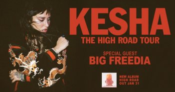 Kesha High Road Tour Dates