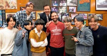 BTS on The Tonight Show