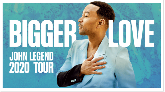 John Legend Bigger Love Tour