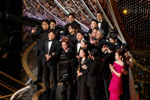 Parasite 2020 Oscars
