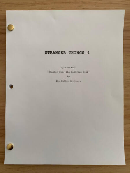 Stranger Things Season 4 Script