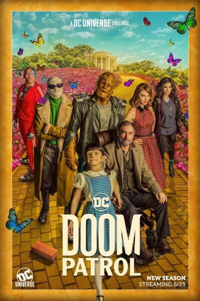 Doom Patrol Poster Season 2