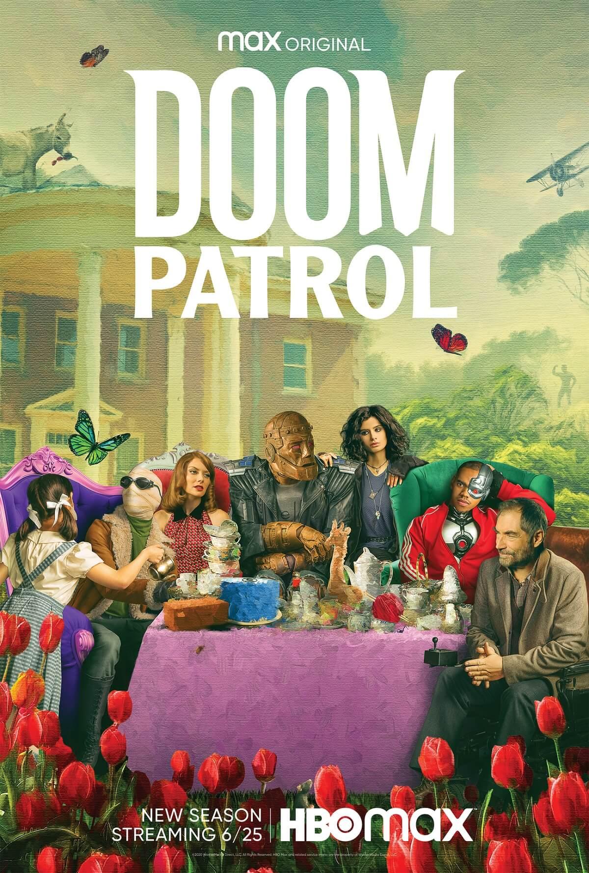 Doom Patrol Debuts A Season Two Trailer