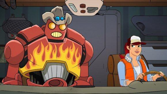 Dallas and Robo Animated Series