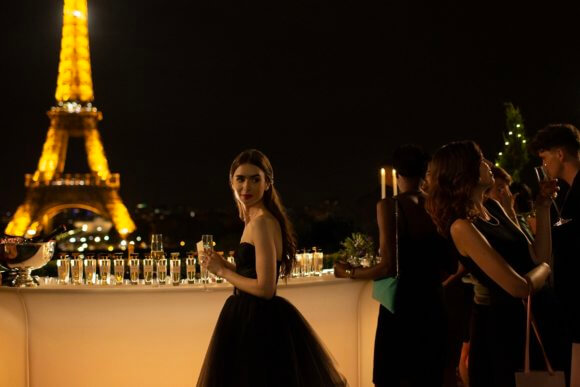 'Emily in Paris' Official Trailer Finds Lily Collins Living Her Best Life