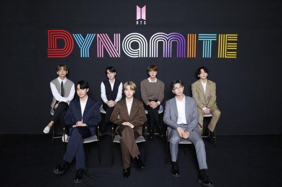 BTS Dynamite Press Conference