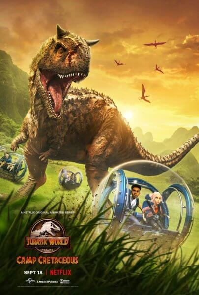 Jurassic World: Camp Cretaceous Poster