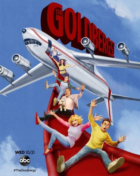 The Goldbergs Airplane Poster