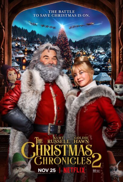 The Christmas Chronicles Part Two Poster