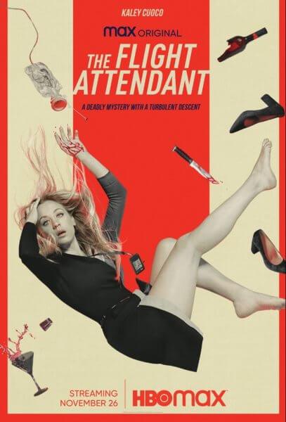 The Flight Attendant Poster