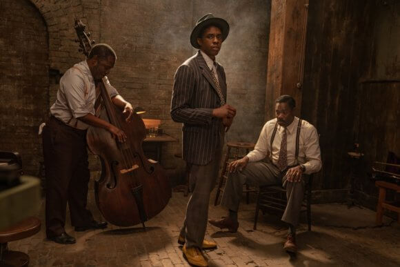 First Photos Of Chadwick Boseman In Netflix's 'Ma Rainey's Black Bottom' Released