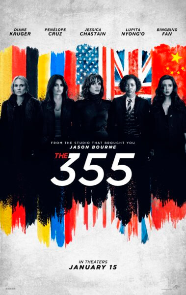 Poster for The 355