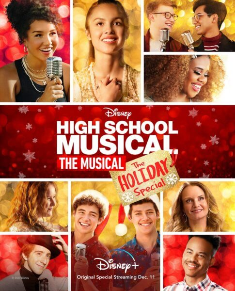 High School Musical The Musical The Holiday Special Poster
