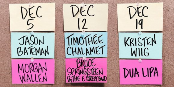 SNL December 2020 Shows