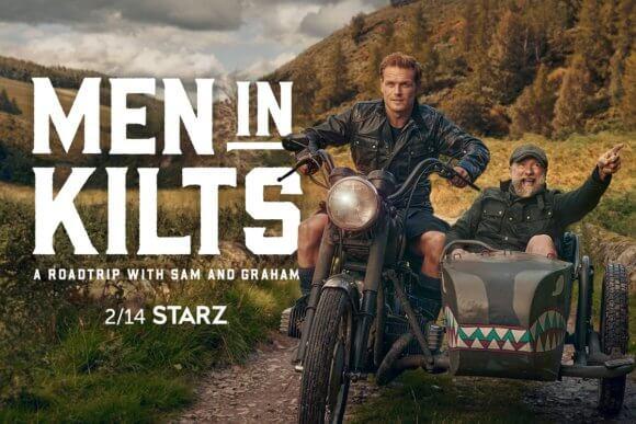 Men in Kilts Sam Heughan and Graham McTavish