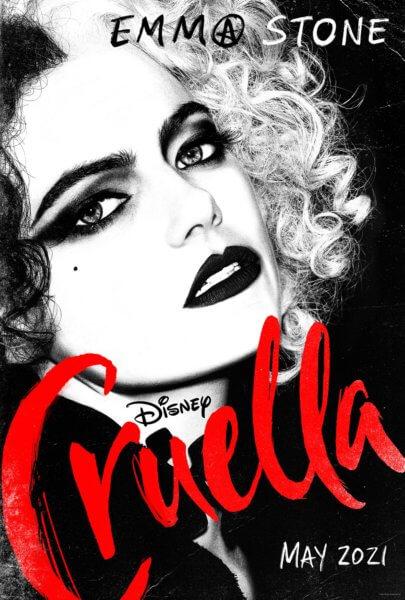 Cruella Poster with Emma Stone