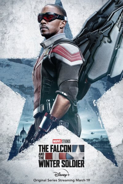 The Falcon and the Winter Soldier Falcon Poster