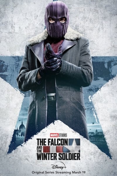 The Falcon and the Winter Soldier Daniel Bruhl Poster
