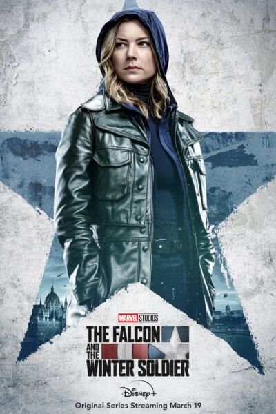The Falcon and the Winter Soldier Emily VanCamp Poster