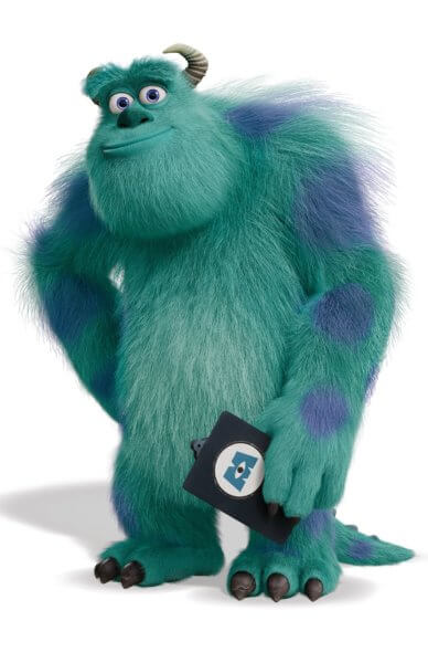 Monsters At Work Sulley