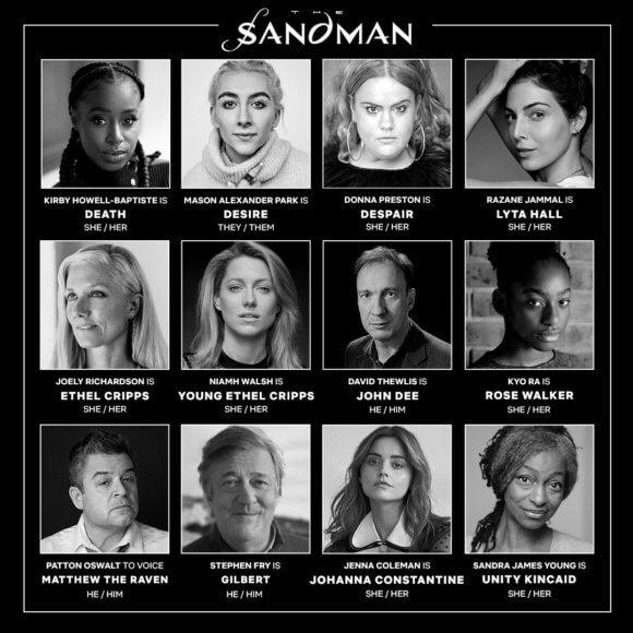 The Sandman Additional Cast