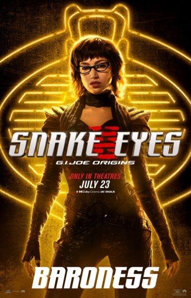 Snake Eyes Poster
