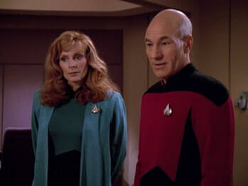 Crusher and Picard