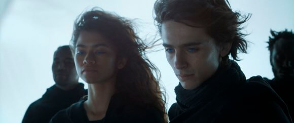 Dune Stars Zendaya and Timothee Chalamet