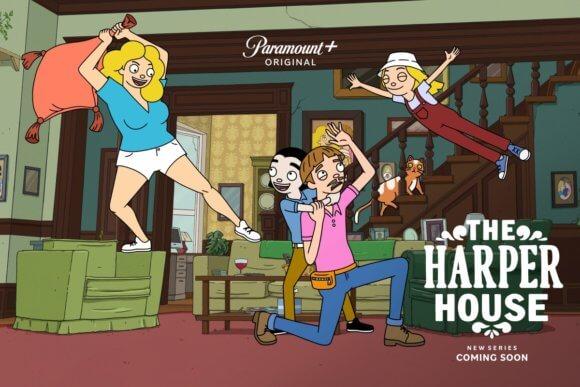 The Harper House Posterr
