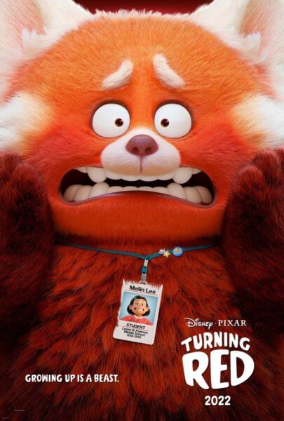 Turning Red Poster