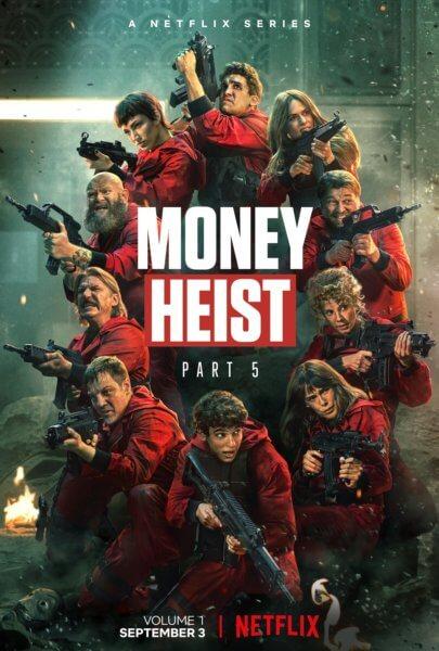 Money Heist Season 5 Poster
