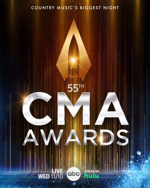 The 55th CMA Awards Poster