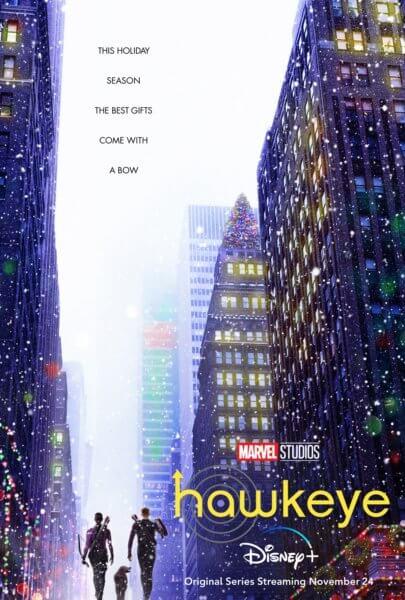 Hawkeye Series Poster