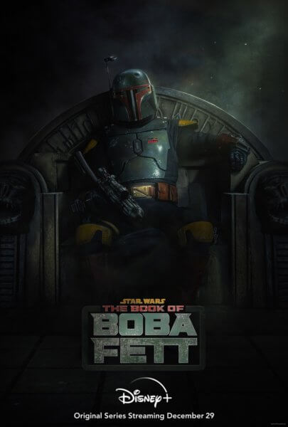 Star Wars The Book of Boba Fett Poster