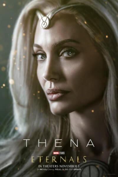 Eternals Angelina Jolie Poster